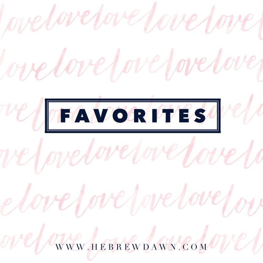 Favorites This Week: May6th