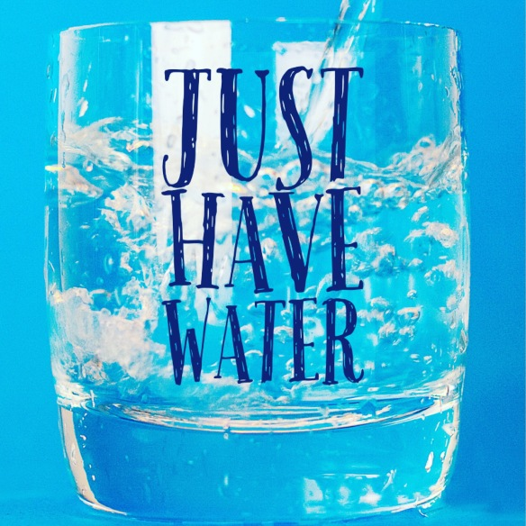 HebrewDawn: Just Have Water - 3 week water challenge